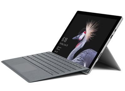 "Surface Pro - TabletLaptop - Intel Core m3-7Y30 - 12.3"" LED Touch - 128 GB - Windows 10 Pro"