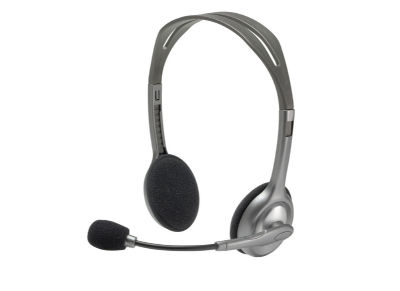 Logitech H111 - Ακουστικά - Γκρι